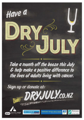 Sign up for Dry July!